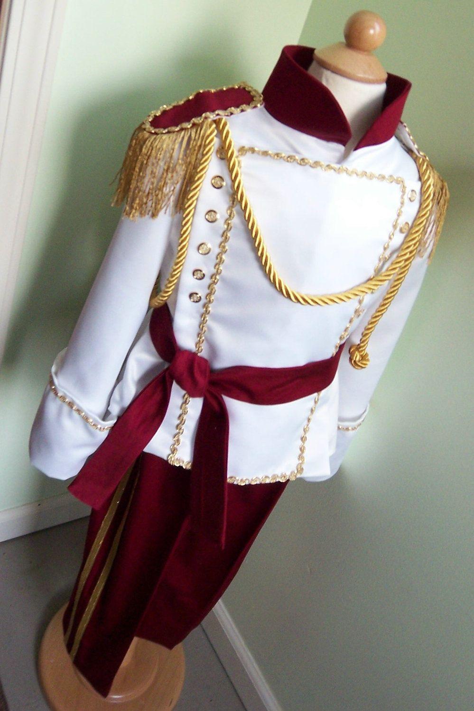 Stunning Boys Prince Costume - Size 4T - Ready to Ship   disney ...
