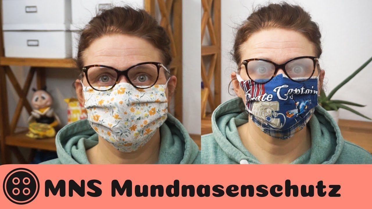 Mundschutz nähen / Brillenträger aufgepasst / Face Mask
