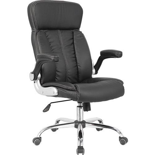 Orlando Pu Leather Executive Office Chair In Black Executive