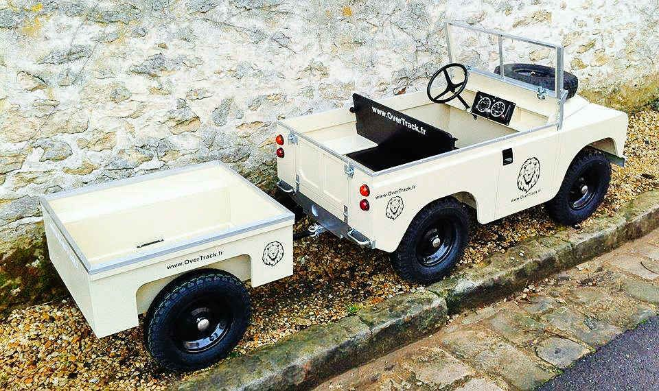 Toylander Tiny Land Rover Toy Car For Adults And Kids