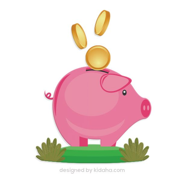 free piggy bank clip arts free education clip arts for kids parents rh pinterest com Free Downloadable Clip Art Images Fall Wedding Clip Art Free Downloads