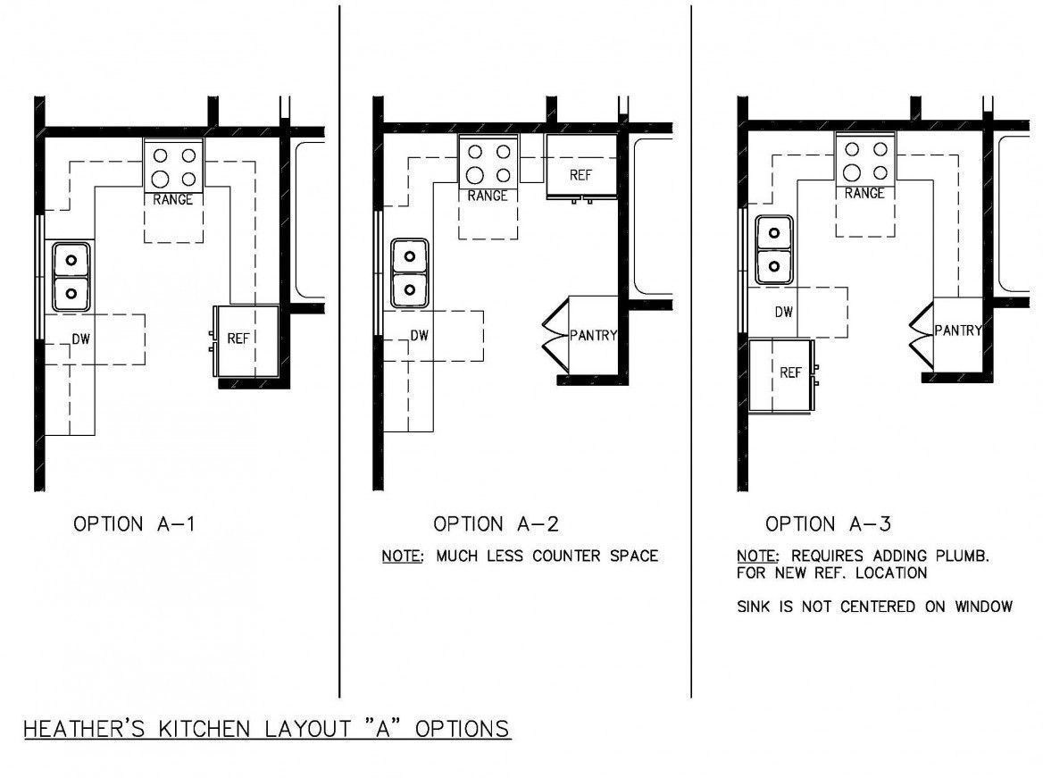 Outstanding Small Kitchen Floor Plans   Small kitchen design ...