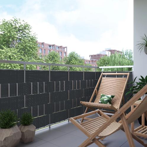 JAROLIFT Balkonbespannungen Basic – Sichtschutz – wasserabweisend