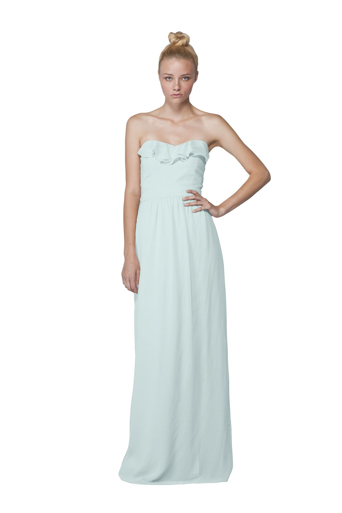Joanna august whitney long skirt bridesmaid dress weddington way joanna august whitney long bridesmaid dress in i want candy seafoam mint ombrellifo Image collections