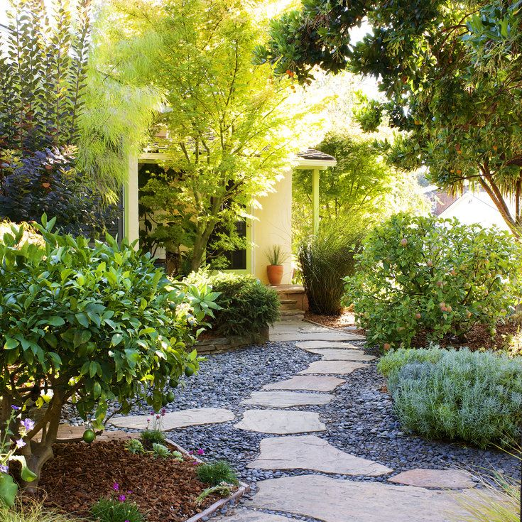 Landscaping without Grass (With images) | Low water ... on Backyard Landscaping Ideas No Grass  id=92965