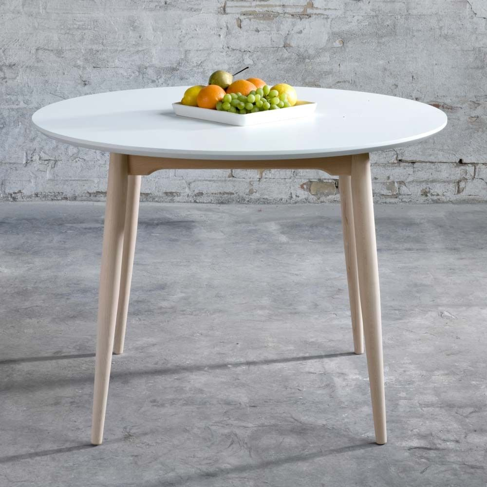 Table Ronde Scandinave Rallonge Table Ronde Symphonie Table Ronde Table Ronde Scandinave