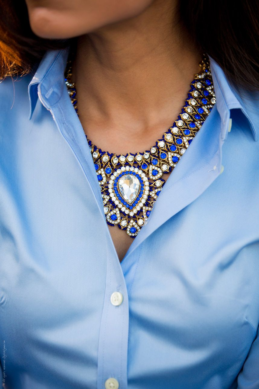 Fashion style Tipsdiy Fashion chic layered statement necklace for woman