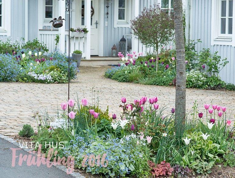 Schwedenhaus gartengestaltung  Tulpen I - * VitaHus * | garden | Pinterest | Skandinavisch wohnen ...