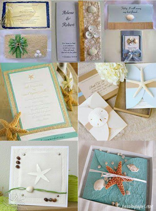 Beach Wedding Invitations | Beach Theme Wedding ...