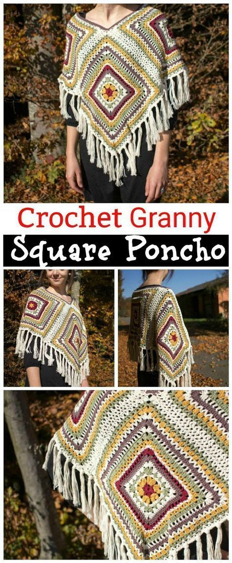 Wonderful Photo Granny Squares color combinations Strategies Crochet Granny Squares operate upright, but weaving in all of the stops usually takes time. There' #color #combinations #Granny #Photo #Squares #Strategies #Wonderful #grannysquareponcho