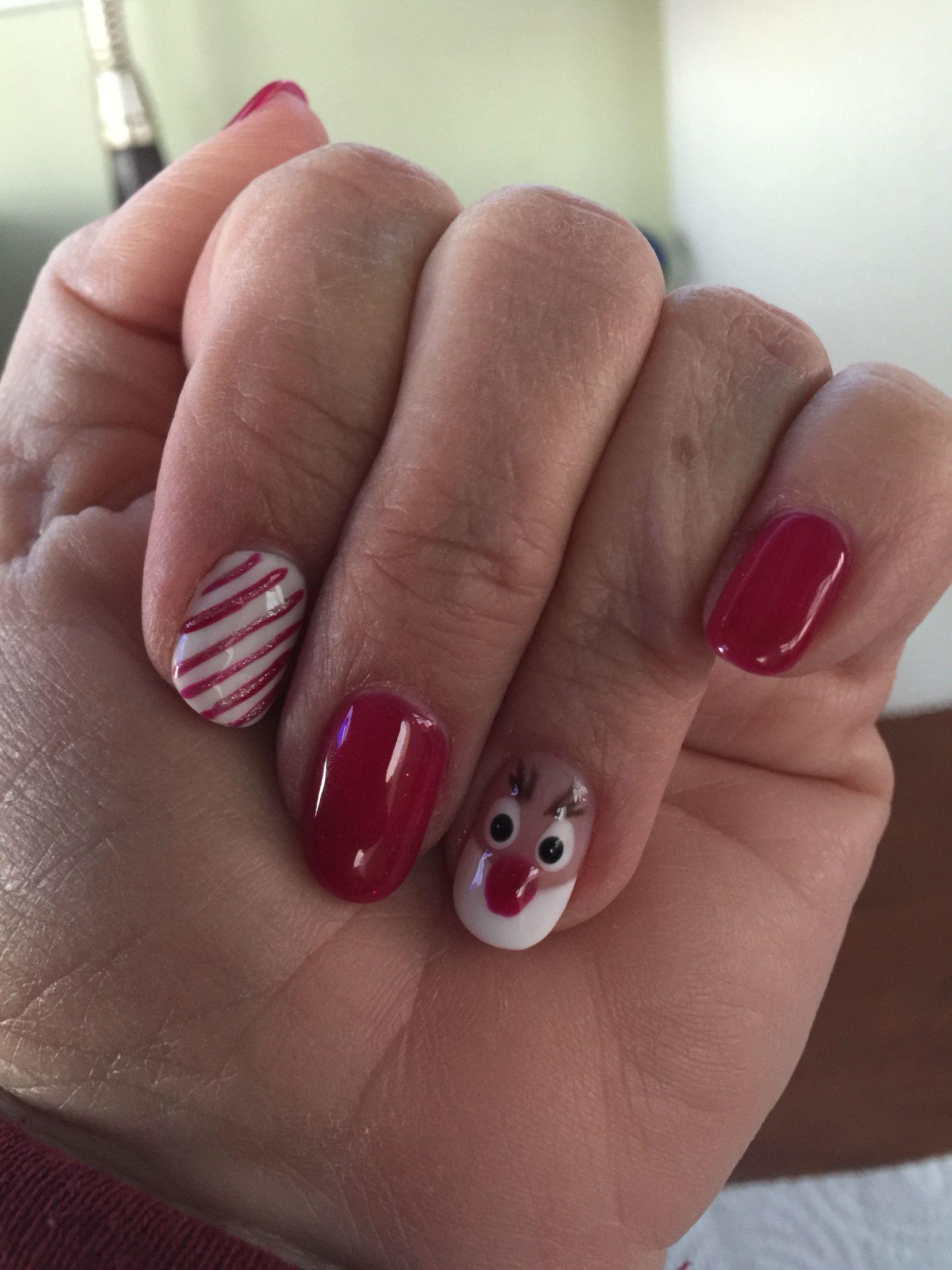 Christmas Nails by Yanda