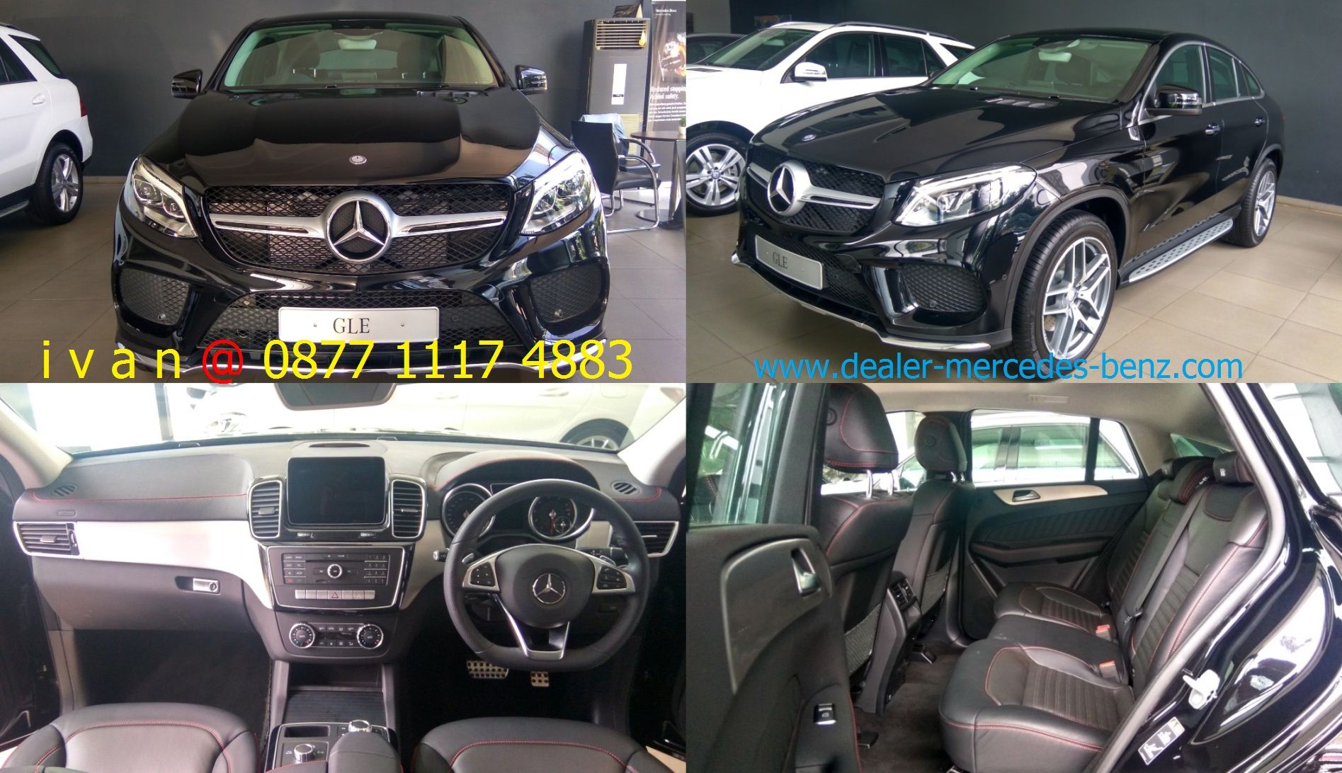 Gle Class Gle 400 Coupe Amg Line 2017 Indonesia Obsidiant