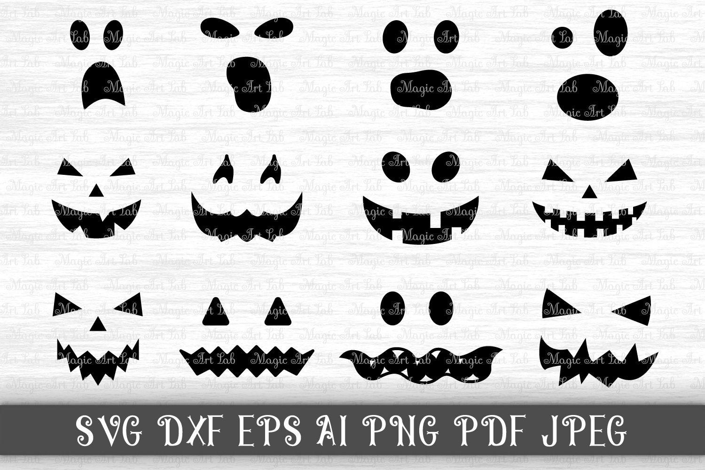 Halloween SVG, Jack of the lantern SVG, Pumpkin face SVG