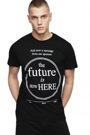 36499a32c70c Diesel ανδρικό T-shirt Diego YD - 00SNRQ 0091A - Μαύρο