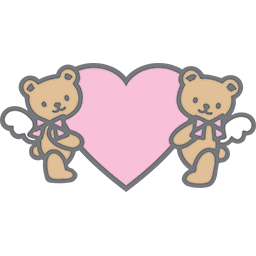 Heart Bears Emoticon Funny Emoticons Hello Kitty Pictures Cute Stickers