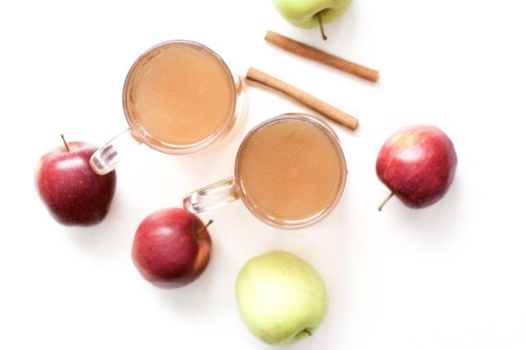 Super Easy Slow Cooker Apple Cider (GlutenFree, Vegan