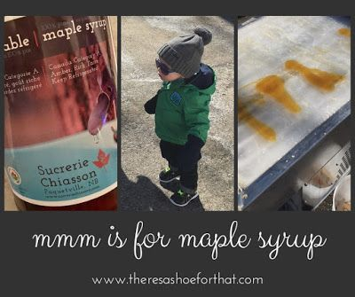 Mmm Is For Maple Syrup Maple Syrup Syrup