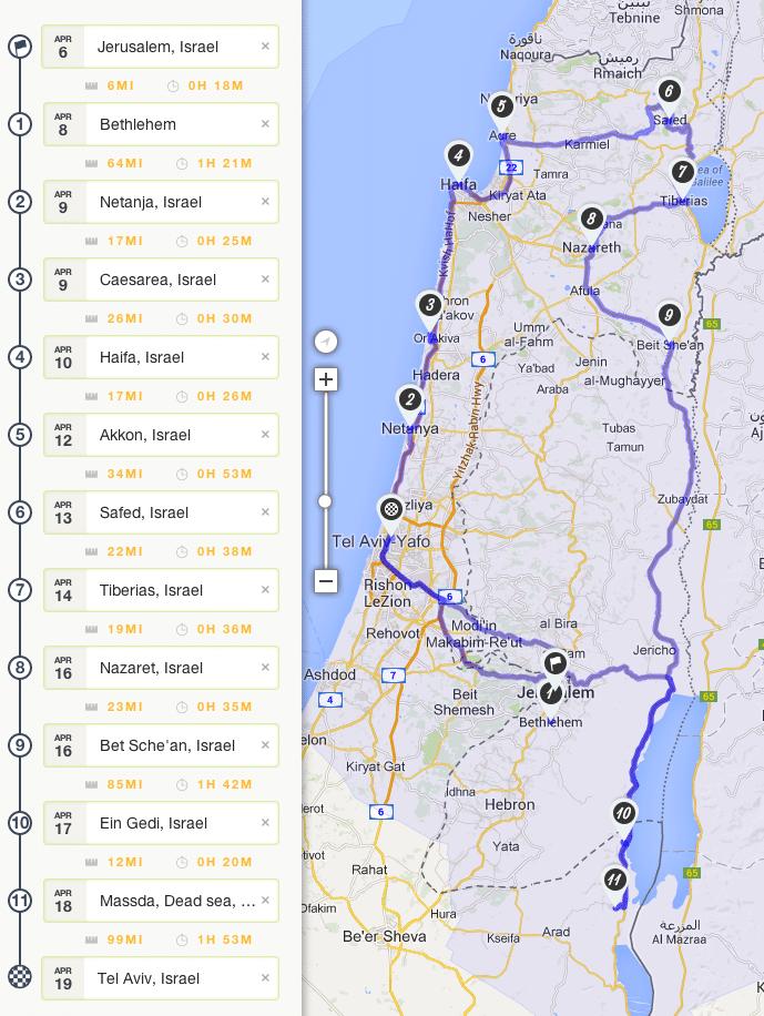 Israel Roadtrip Planung Israel Israel Israel Reise Und Roadtrip