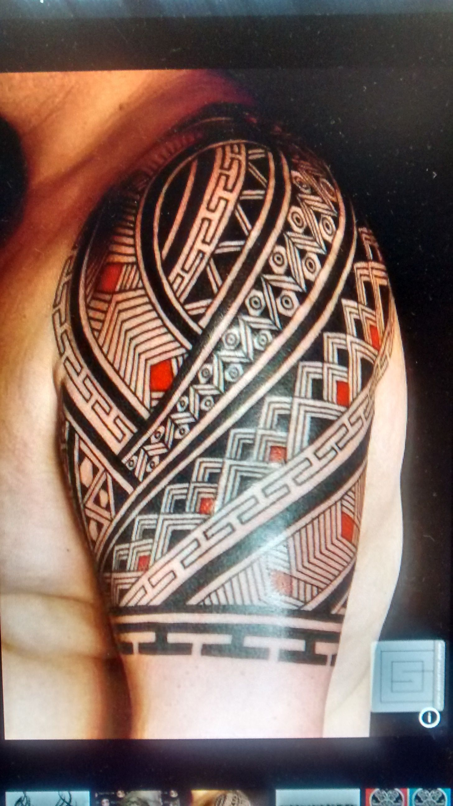 #polynesiantattoosforearm #samoantattoosforearm