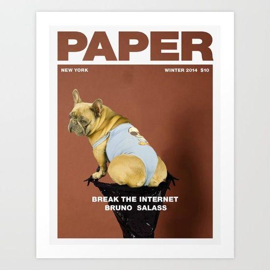 Break the Internet Art Print