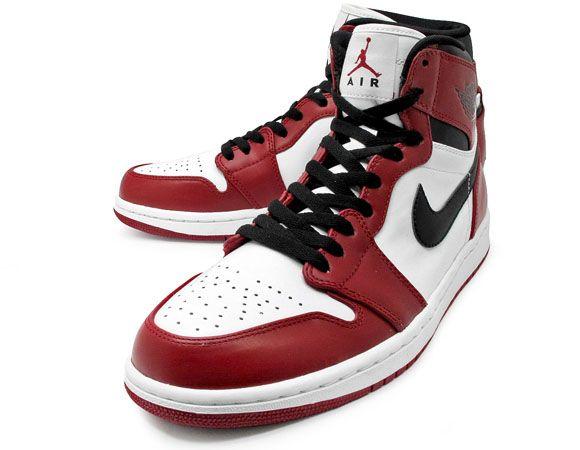 Air Jordan 1 Hi Retro - White:Black-Varsity Red - dropping