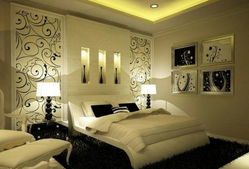 Bedroom Winsome Beautiful Bedroom Designs Romantic As Well As