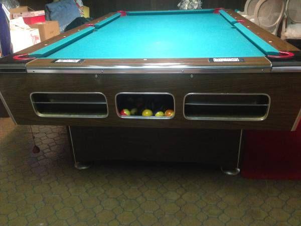 Bel-Aire Detroit Pool/billiard table. Metro Detroit ...