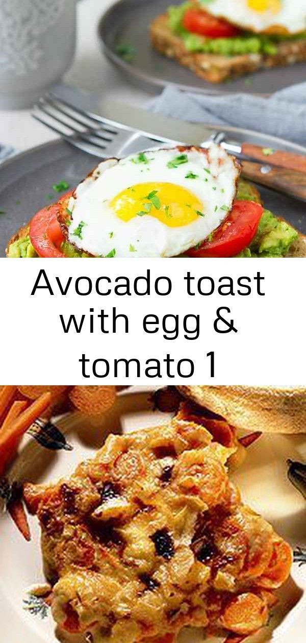 Avocado toast with egg & tomato 1 #tartifletterecette Avocado toast and egg is such a great way to start the day. Packed with protein and fiber, and so satisfying. 349 calories and 3 Weight Watchers Freestyle SP #avocado #breakfast #healthy #cleaneats #recipe Carottes en tartiflette | Recette Minceur | Weight Watchers Muffins Healthy beurre de cacahuètes et chocolat – Je suis gourmande … Mais je me soigne ! healthy meal prep recipes #tartifletterecette