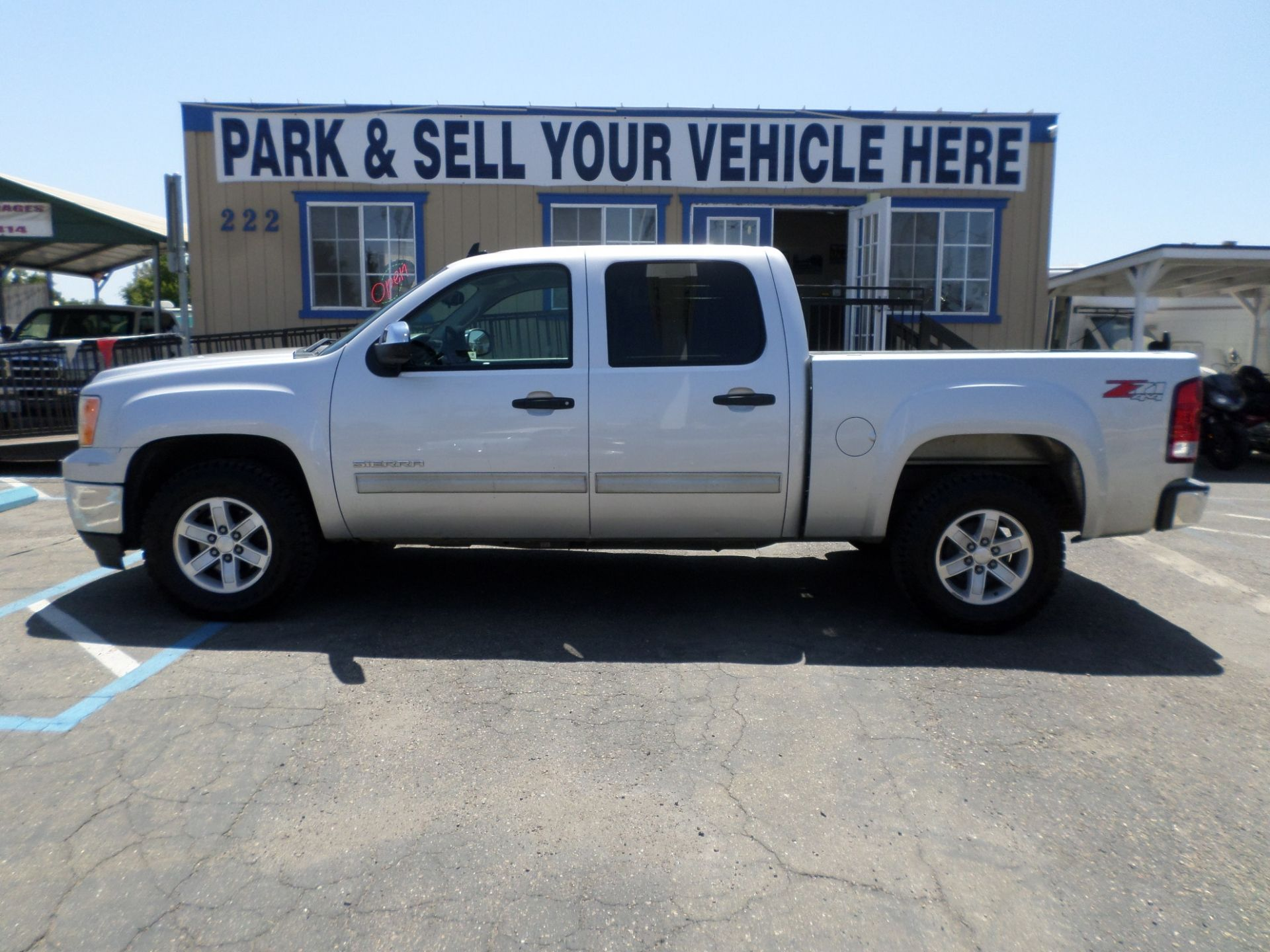 Truck For Sale 2011 Gmc Sierra 1500 Z71 4x4 Sle Crew Cab In Lodi