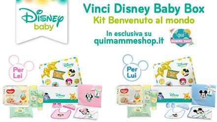 Concorso Dolce Attesa vinci Disney Baby Box