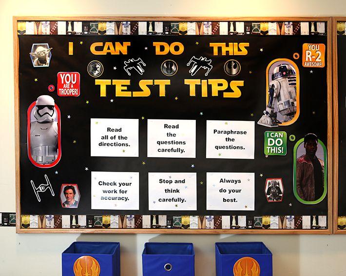 Star Wars Classroom Theme | Eureka School | Bulletin Board Ideas ...
