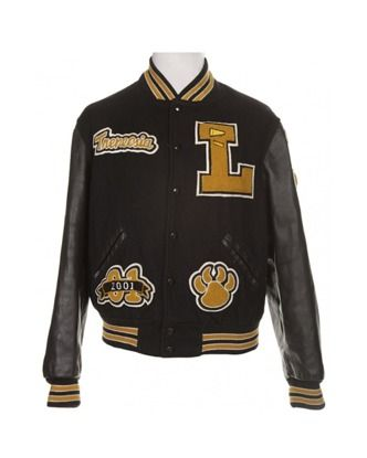 Black Letterman Jacket With Cheerleader Patches Jackets Coats Rokit Vintage Clothing Black Letterman Jacket Vintage Jacket Jackets