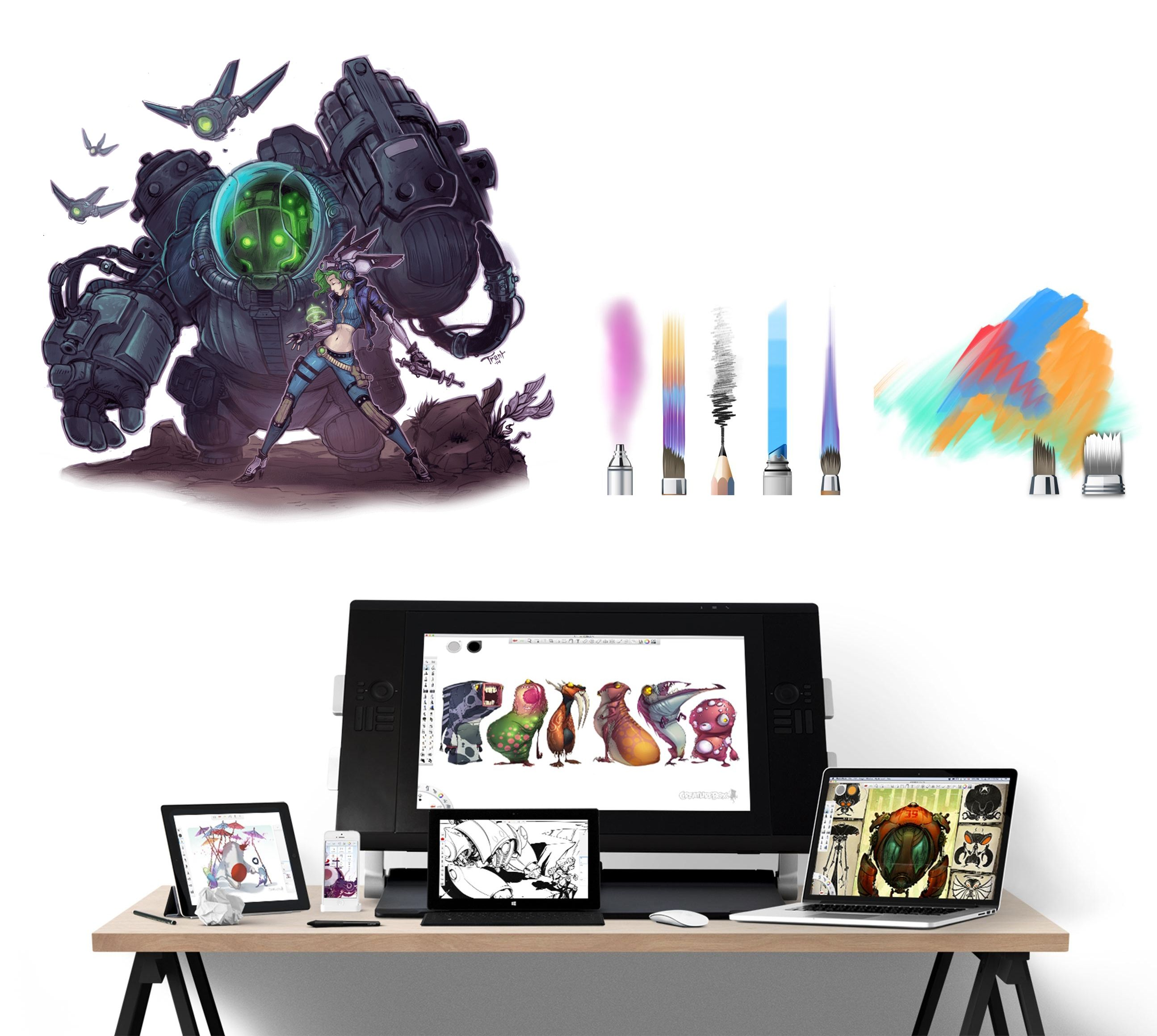 7 of best painting applications for Mac and PC Digital