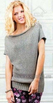вязание для женщины спицами со схемой