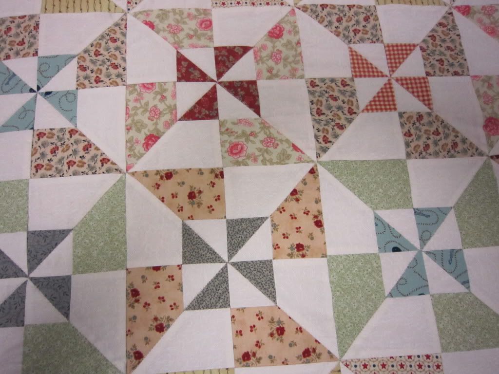 pin wheel scrappy quilt patterns | Quilt in a Day - My Double ... : double pinwheel quilt - Adamdwight.com