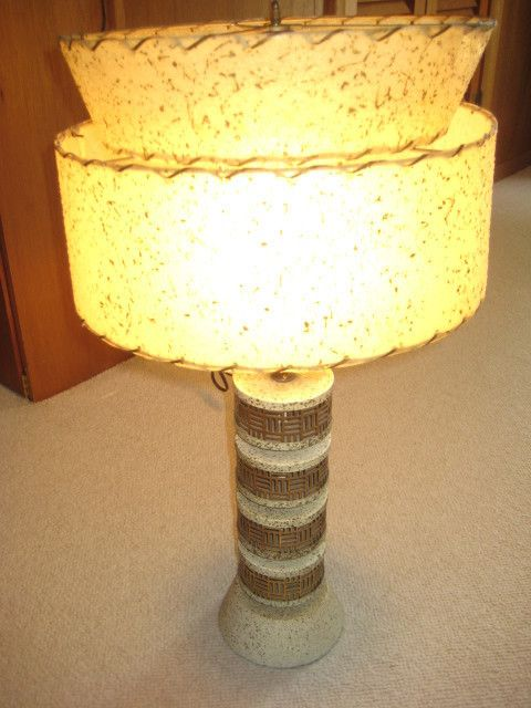 1950 S Lamp Vintage Table Lamp Lamp Table Lamp