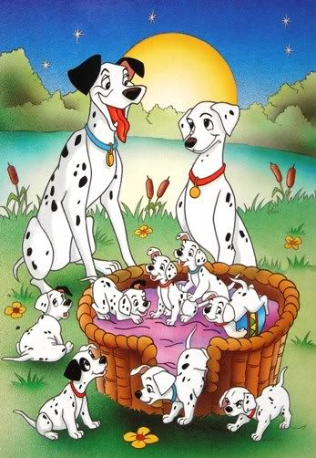 101 Dalmatians 1961 Animated Cartoon Movies Disney Cartoons