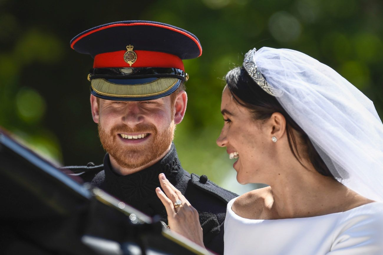meghan markle y harry carroza boda