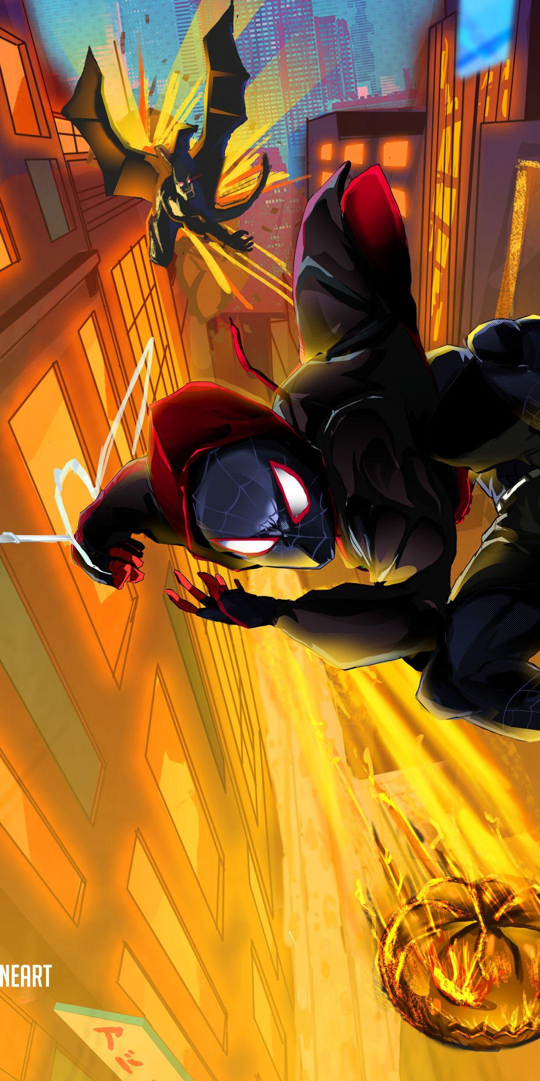 Spider Man Into The Spider Verse Movie Fan Artwork X