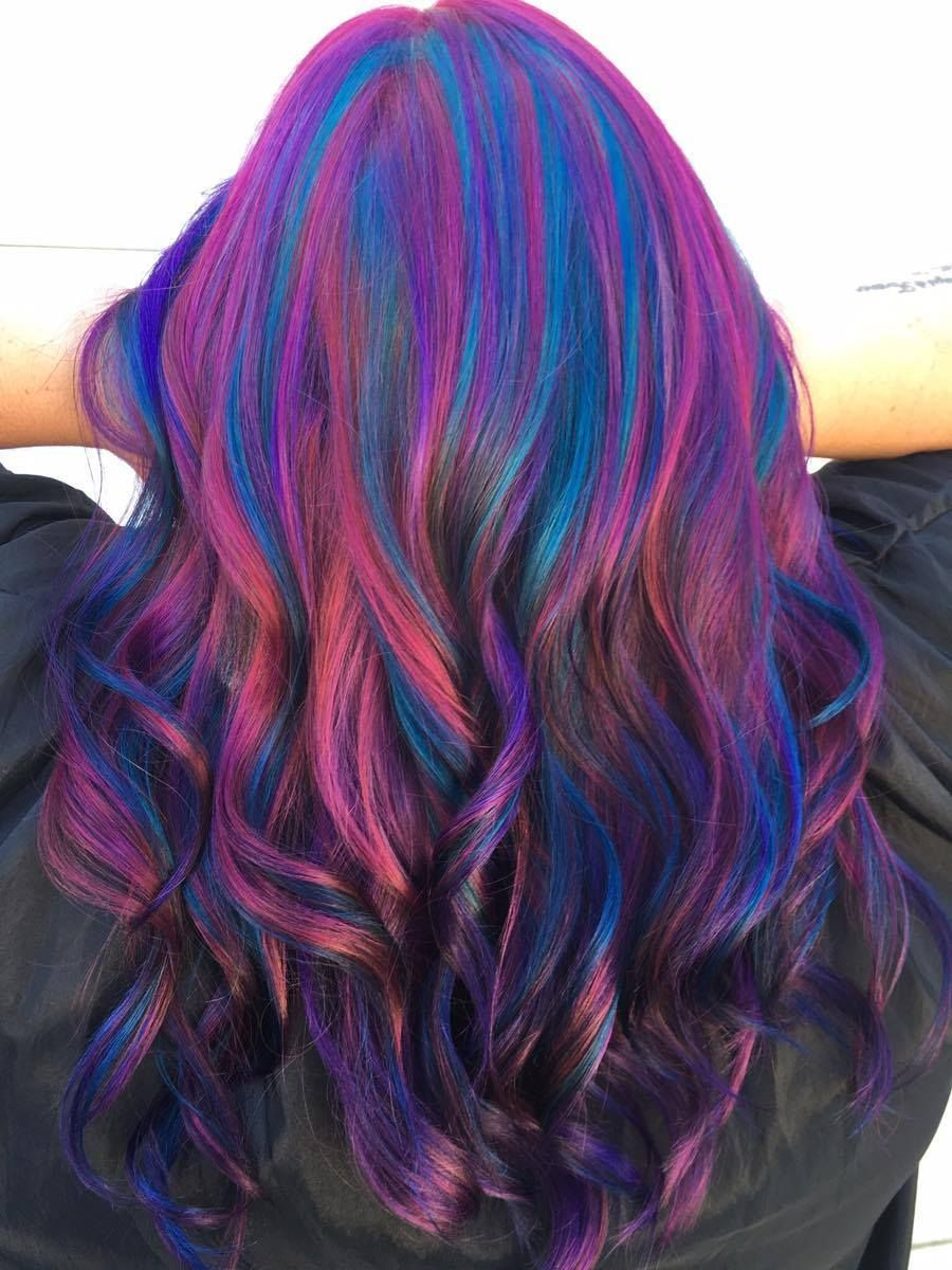 Joico hair color tags color jocio joico - I Used All Joico Color Intensity Colors For The Hair Do I Used Mermaid Blue