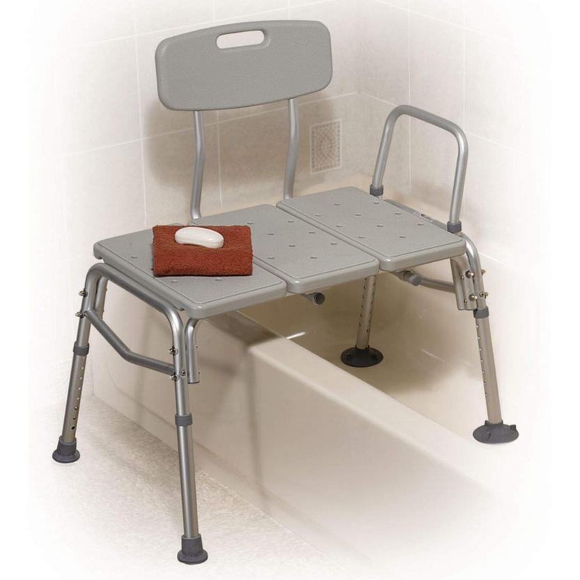 Adjustable Shower Chair Bathtub Transfer Bench For Seniors