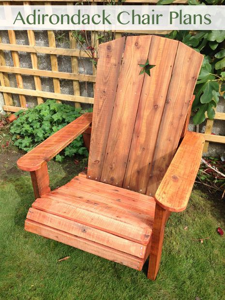 build your own adirondack chair plans pinterest woods wood
