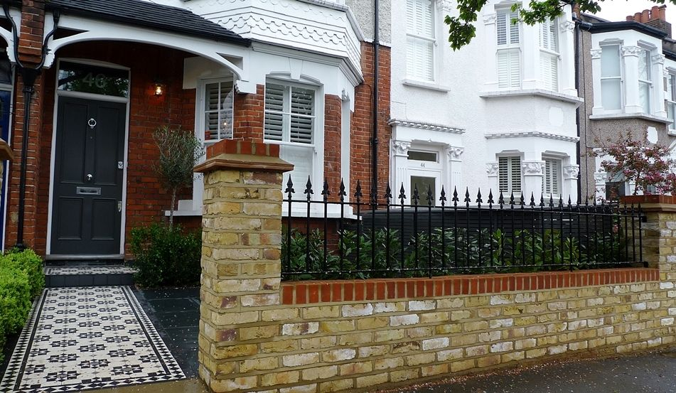 Incredible Front Garden Brick Wall Design Your Visiting Card Front Garden Largest Home Design Picture Inspirations Pitcheantrous