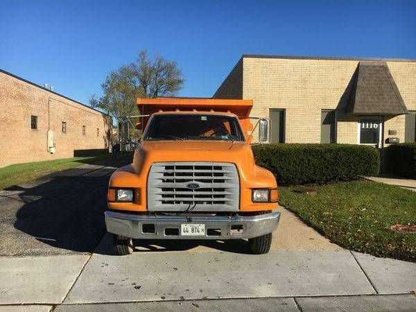 1998 Ford F800 Dump Truck 10000 Used Cars For Sale Used Cars