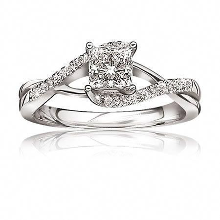 Diamond Band : 14kt White Gold Curve V Ring Band Wedding Engagement Stack Dainty - Fine Jewelry Ideas#14kt #band #curve #dainty #diamond #engagement #fine #gold #ideas #jewelry #ring #stack #wedding #white