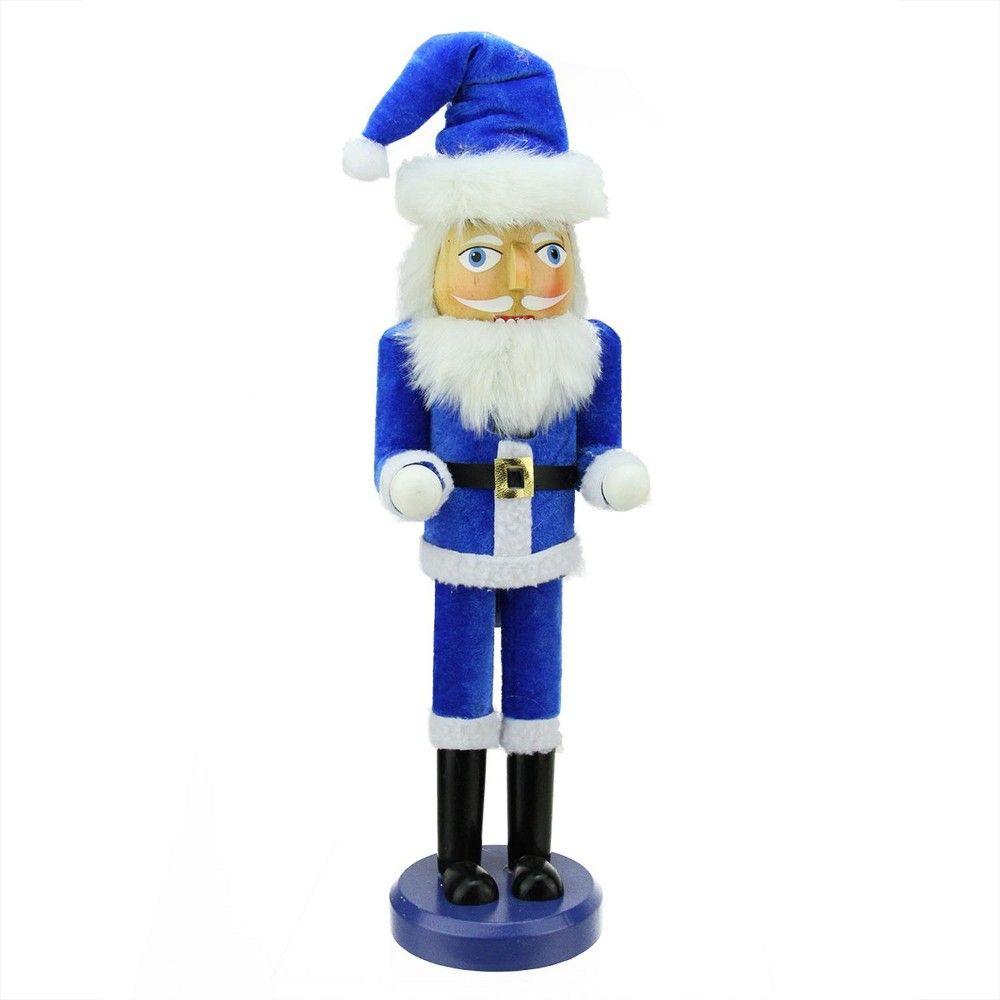 Northlight 14 Decorative Blue And White Hanukkah Santa