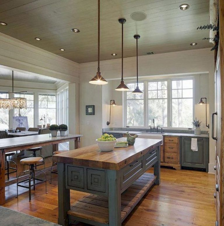 Charming Rustic Kitchen Ideas And Inspirations: 17 Charming Kitchen Lighting Ideas (to State Your Room