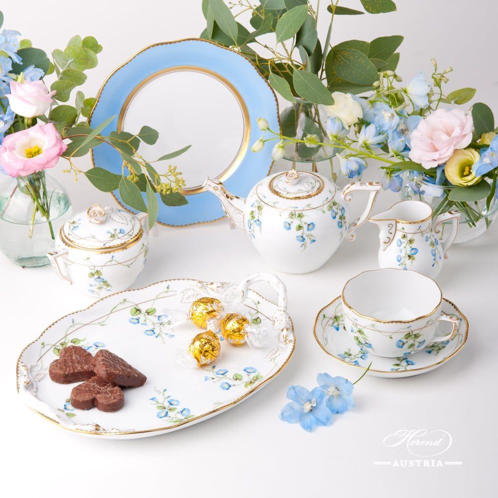 Nyon Tea Set For 1 Person Herend Austria Tea Set Fine China Tea Set Porcelain Tea Set