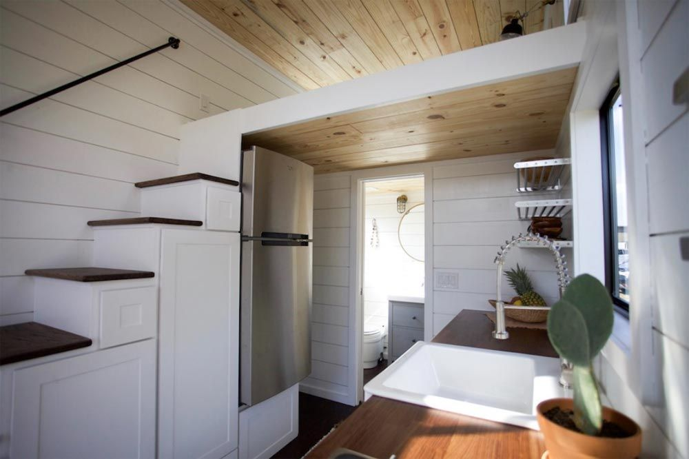 Refrigerator   Texas Hill Country By Nomad Tiny Homes