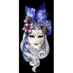 Mask Decoration Ideas Large Art Deco Lady Butterfly Venetian Mask Wall Decor  Venetian